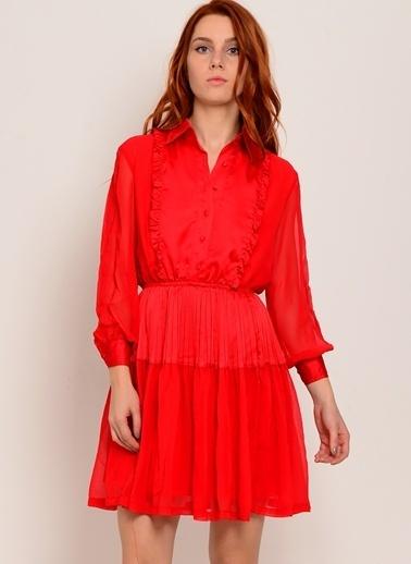 Sister Jane Elbise Kırmızı